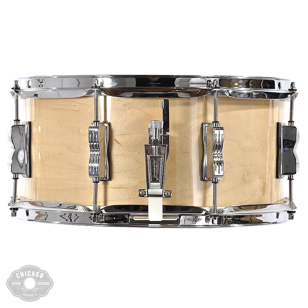 Ludwig Classic Maple 6.5x14 Snare Drum Natural Maple - Walmart.com