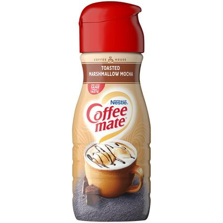 COFFEE MATE Non-Dairy Coffee Creamer, Toasted Marshmallow Mocha Flavor 16  oz