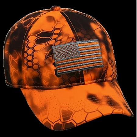 Misc Novelty Clothing KRY011INF Kryptek US Flag Cap Inferno - image 1 of 1