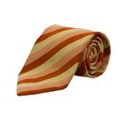 Gant Men's Striped Neck Tie One Size Peach / Multi-Color
