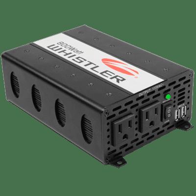 The Whistler Group XP800i Inverter, 800W, 12V, Clamps