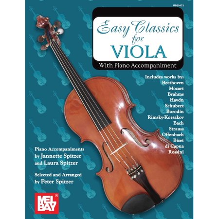 Easy Classics For Viola - eBook ()