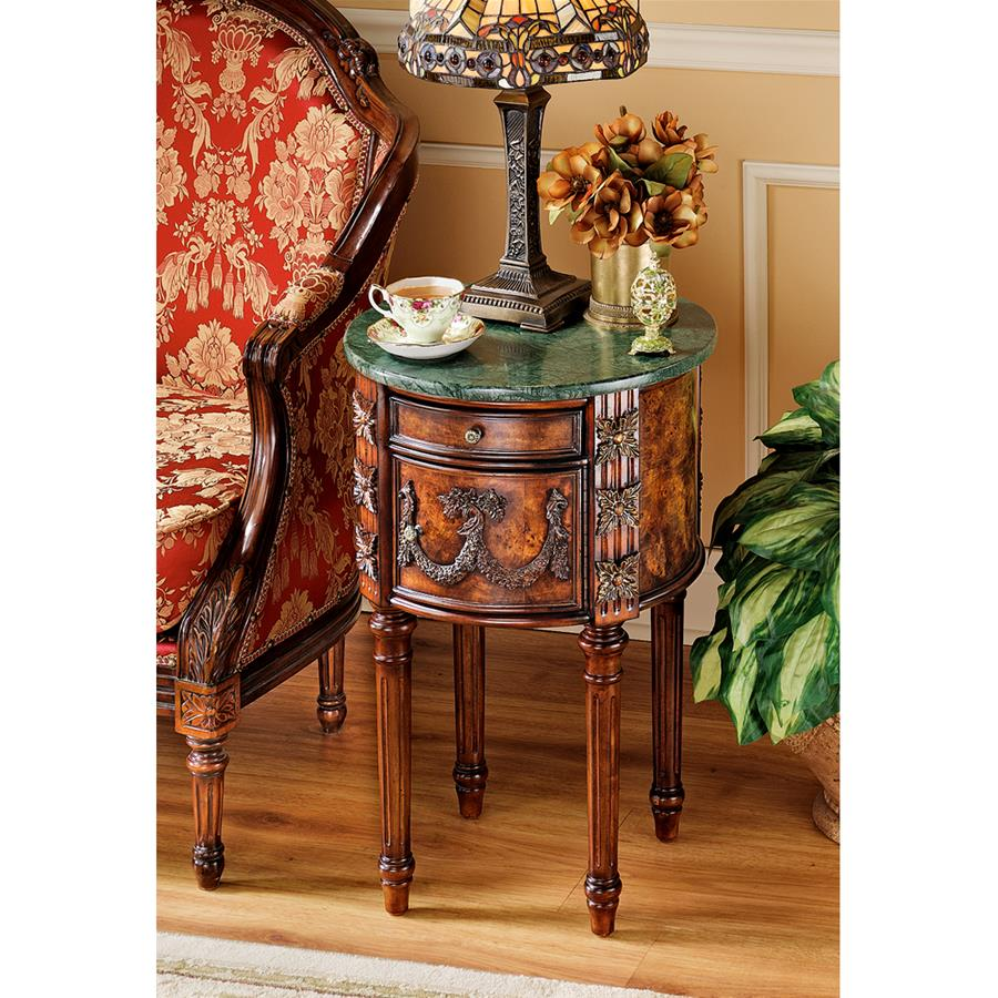 The Beaufort Drum Occasional Table