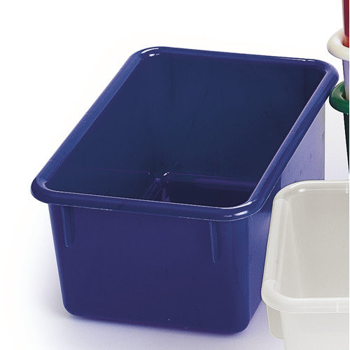 Angeles Value Line 11'' Cubbie Trays in Blue (Set of 2)