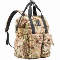 SoHo Backpack Diaper Bag, Rockaway Beach, Black, 3 Piece Set