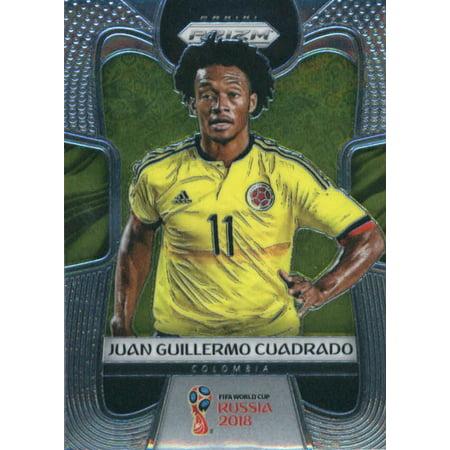 the best attitude 6df12 2e07f 2018 Panini Prizm #42 Juan Guillermo Cuadrado Colombia Soccer Card