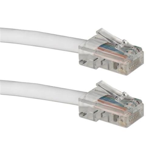 QVS CC712E-03WH 3 ft. 350MHz CAT5e Flexible White Patch Cord