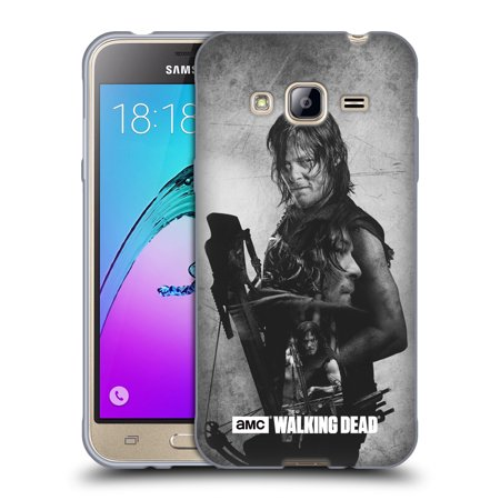 OFFICIAL AMC THE WALKING DEAD DOUBLE EXPOSURE SOFT GEL CASE FOR SAMSUNG PHONES 3