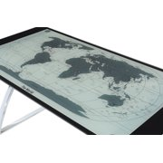 Powell world map computer desk walmart powell world map computer desk image 2 of 5 gumiabroncs Image collections