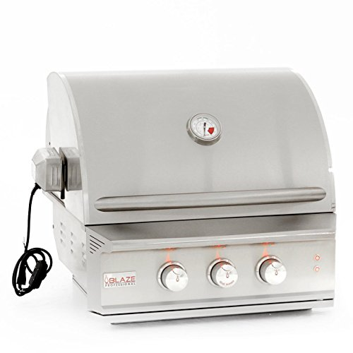 Blaze Professional 27-inch Built-in Propane Gas Grill With Rear Infrared Burner - Blz-2pro-lp