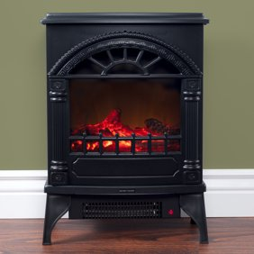 Harper Bright Designs Electric Fireplace Stove Heater Portable