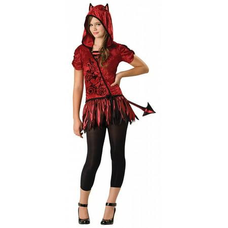 Hooded Huntress Tween Costume (Devil in da Hood Tween Costume -)