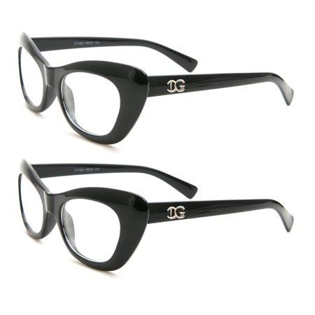 Newbee Fashion - Casual Simple Squared Durable Frames Temple Design Clear Eye (Simple Glasses Frames)