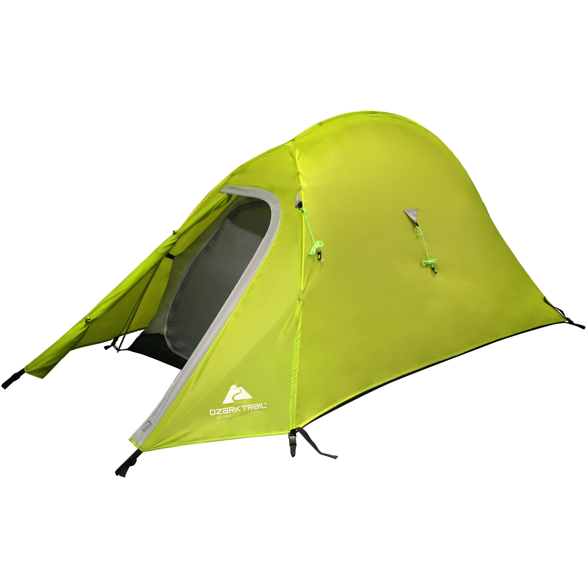 Ozark Trail Ultra Light Back Packing 4u0027 x 7u0027 x 42  Tent with Full Fly Sleeps 1 Green - Walmart.com  sc 1 st  Walmart : light hiking tent - memphite.com