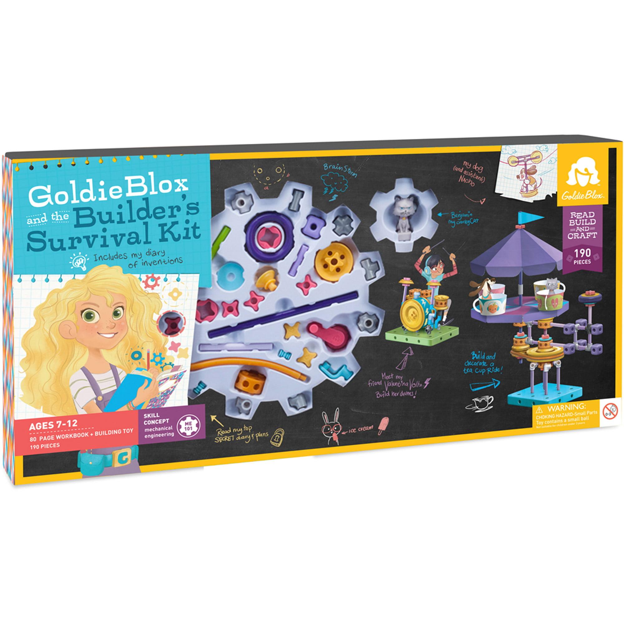 GoldieBlox and the Builder's Survival Kit by GoldieBlox