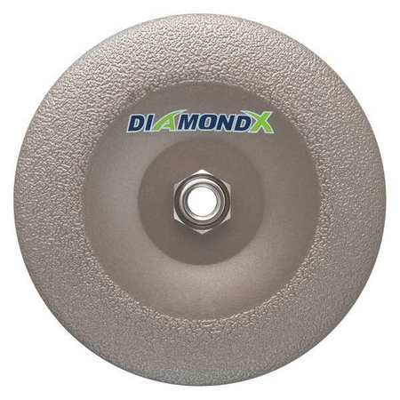 "MK DIAMOND PRODUCTS 170620-DX Grinding Disc,50 Grit,7"" x 5/8-11 G4414746"