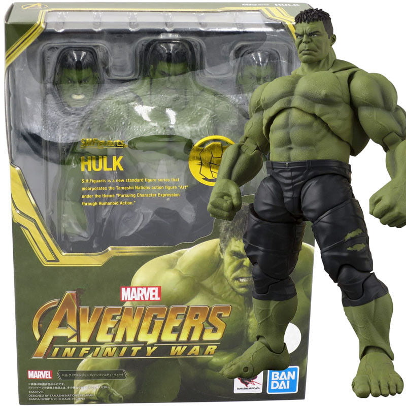 Bandai S.H.Figuarts SH Figuarts Avengers Infinity War Hulk Action Figure by Bandai