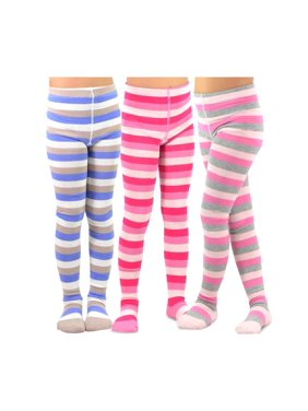 8708f38d947b2 Product Image TeeHee Kids Girls Fashion Cotton Tights 3 Pair Pack