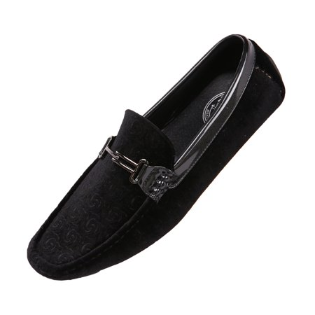 Amali Men's Velvet Loafer Smoking Slippers in Paisley and Solid Designs Styles Roberto Piero