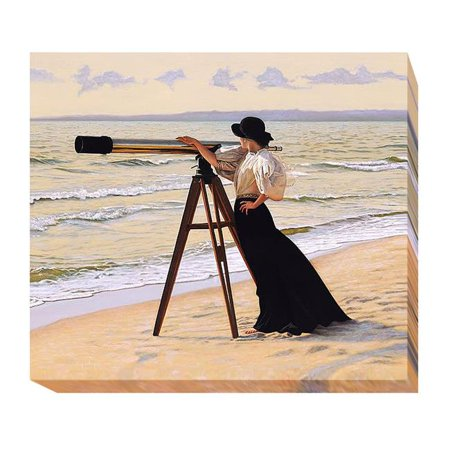 Outlook by Peter Quidley Premium Oversize Gallery Wrapped Canvas Giclee Art - 35 x 40 x 1.5 in. - image 1 de 1