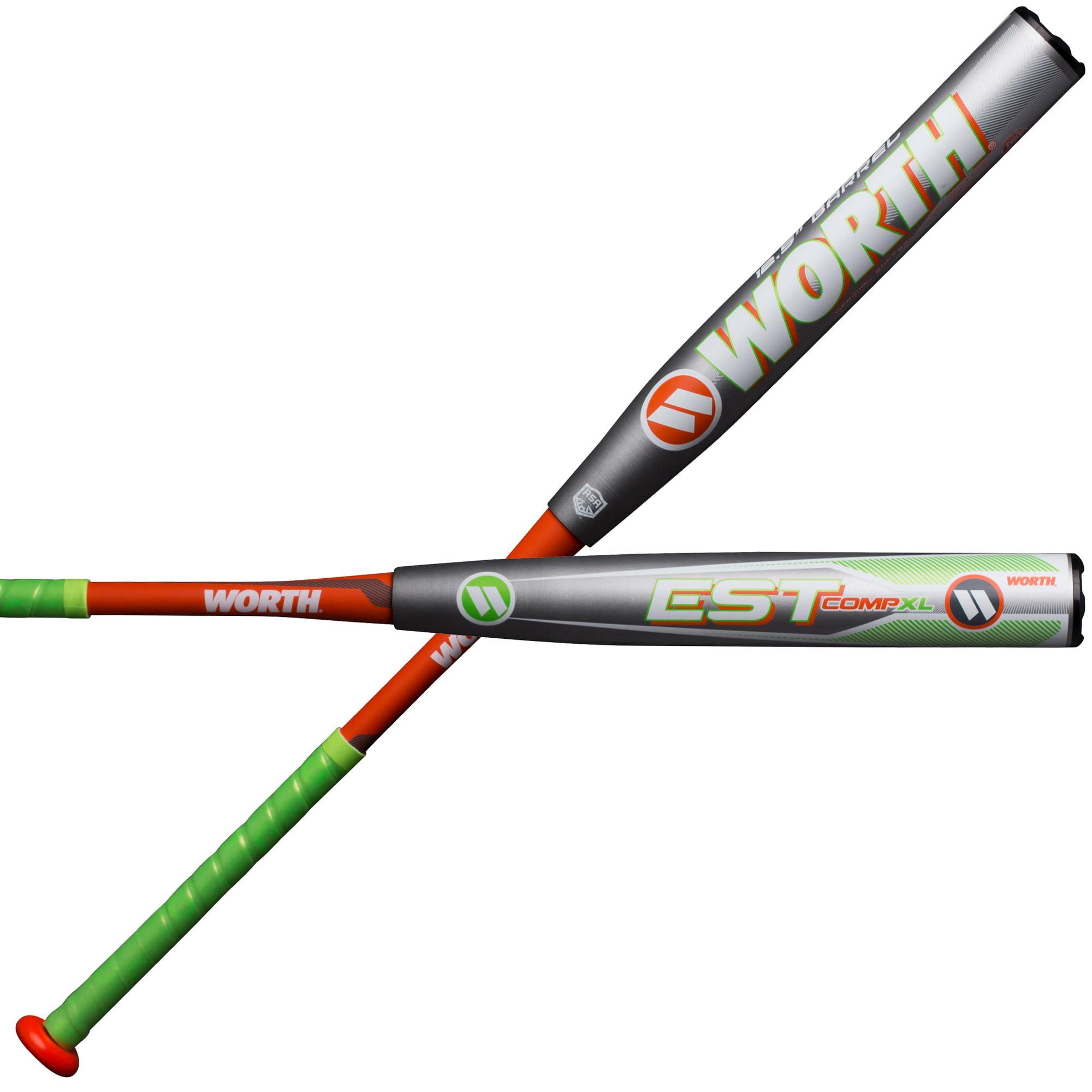 Worth EST COMP XL 12.5 ASA W12XLA Slowpitch Softball Bat