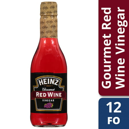 - (3 Pack) Heinz Gourmet Red Wine Vinegar, 6 - 12 fl oz Bottles