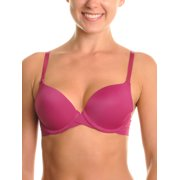 Angelina Wired Laser Cut Push Up Bra with Lace Accent Detail (6-Pack)