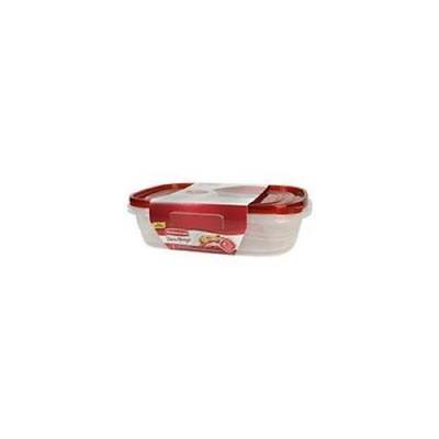 Rubbermaid TakeAlongs Large Rectangular Container, 2Pack ()