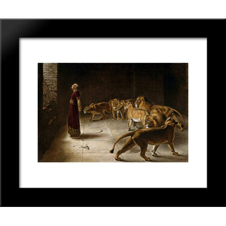 Daniel's Answer to the King 20x24 Framed Art Print by Briton