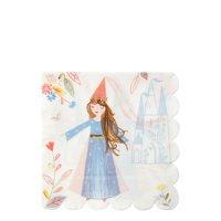 Meri Meri Magical Princess Large Napkins, 16ct