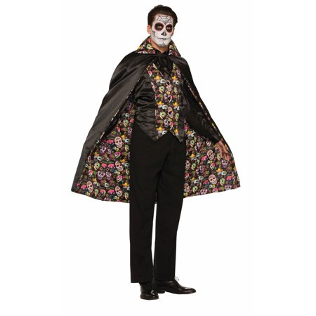 Halloween Day Of The Dead Cape - Day Of The Dead Faces For Halloween