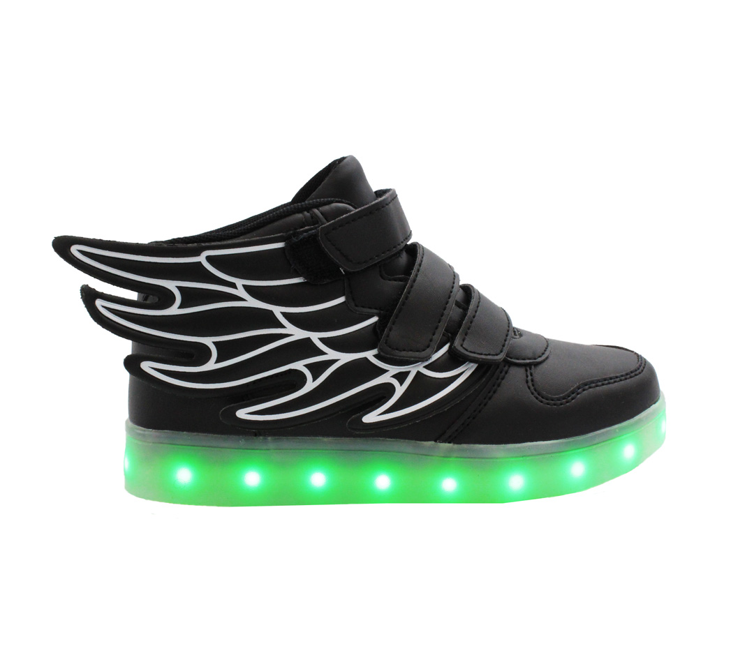 Sunny Day Unisex Breathable LED Light Up Shoes Kids Boys Girls Fashion Colorful Light Cool Shoes