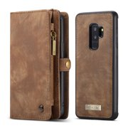 Best Detachable Wallets - CaseMe For Samsung Galaxy S9 Plus Wallet Case,Handmade Review