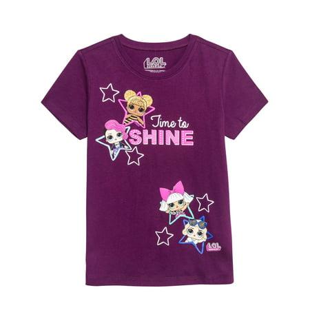 Dolls Glitter Graphic T-Shirt (Little Girls & Big Girls)