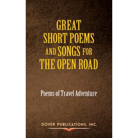 Great Short Poems and Songs for the Open Road: Poems of Travel Adventure - eBook - Halloween Poems And Songs For Preschool