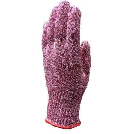 Tucker Safety Products No 94432 Wire Free Colored Cut Resistant Glove   Red