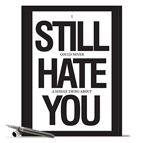"J8681K Jumbo Funny Anniversary Card: 'Still Hate You Anniversary' with Envelope (Big Size: 8.5"" x 11"")"