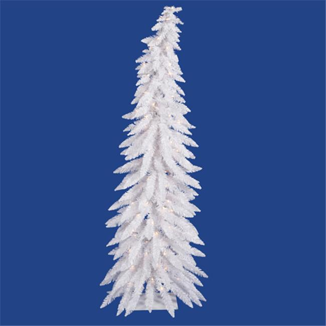 Northlight Seasonal 11634911 Pre-Lit Whimsical White Spruce Artificial Christmas Tree - Clear Lights