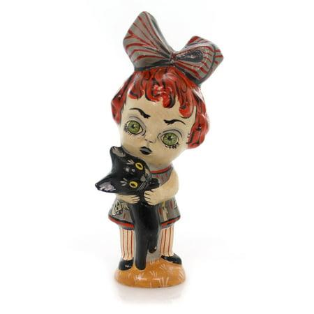 Vaillancourt GHOULY GIRL Plaster Halloween Chalkware Folk Art 13074