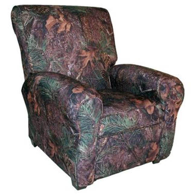Dozydotes 11952 Big Kids Club Recliner - Pink Camouflage