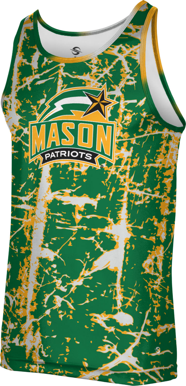 ProSphere George Mason University Mens Performance T-Shirt Tie Dye