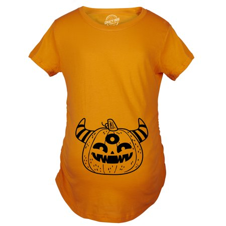 Maternity Monster Pumpkin Pregnancy Shirt Funny Halloween Tee For Baby - Daily Bumps Halloween