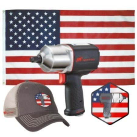 Ingersoll Rand Polisher - Ingersoll Rand 2135USA 2135qxpa American Impactool Kit
