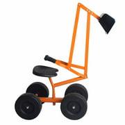 Kid Ride-on Sand Digger Heavy Duty Digging Scooper 4-wheel Toy Excavator
