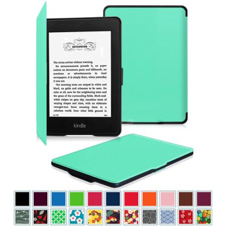 Fintie SlimShell Case for Amazon Kindle Paperwhite (Fits all 2012, 2013,  2015 and 2016 Versions), Mint Green