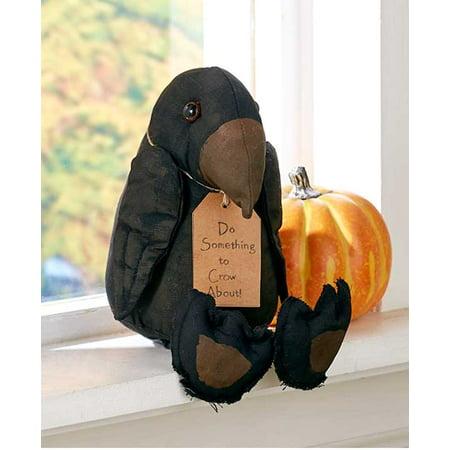 Primitive Halloween Fall Harvest Halloween Country Decor (Crow Bird)