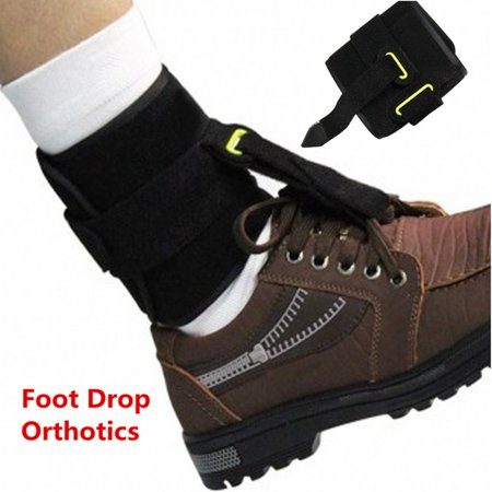 Adjustable Drop Foot Support Ankle Foot Orthosis Brace Strap Hemiplegia Sroke