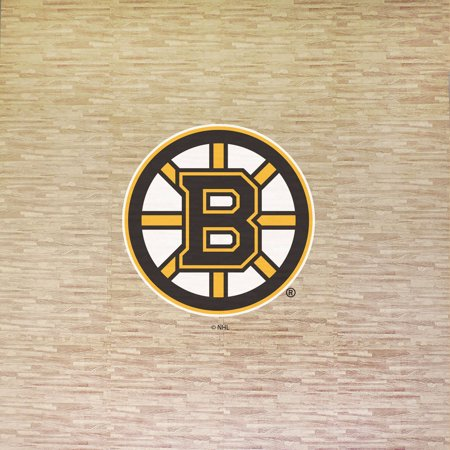 NHL Boston Bruins Portable Foam Puzzle Tailgate Floor Mat by