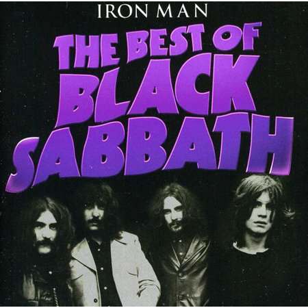 IRON MAN : Best of Black Sabbath (CD)