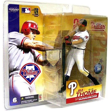 McFarlane MLB Sports Picks Series 6 Jim Thome Action Figure [Indians Jersey  Variant]